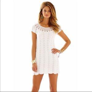 Lilly Pulitzer White Everly Dress Size XS Knit
